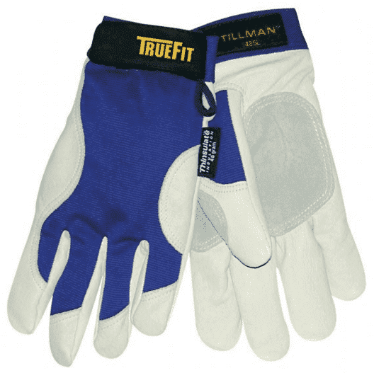 Tillman TrueFit Insulated Pigskin Winter Work Gloves